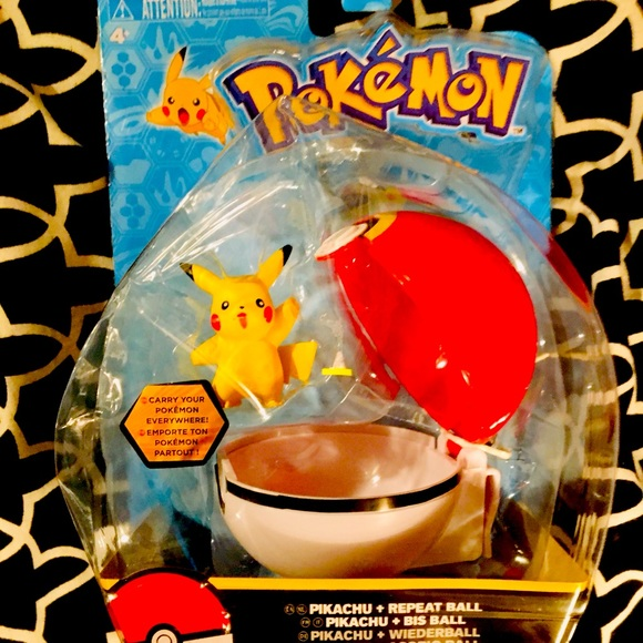 Pokémon Pikachu Repeat Ball